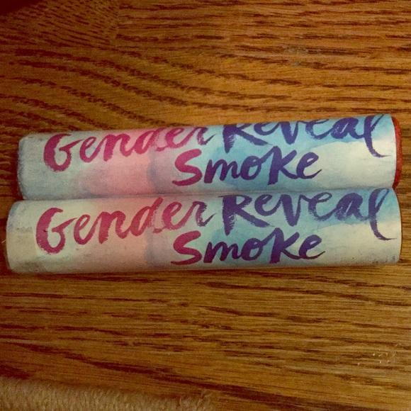 BLUE!💙Boy Gender Reveal Smoke Bombs! 2 Piece Set! NWT